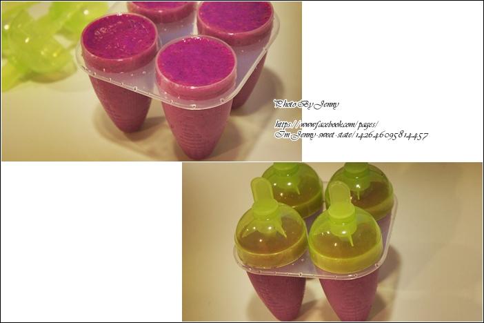 火龍果牛奶冰棒3