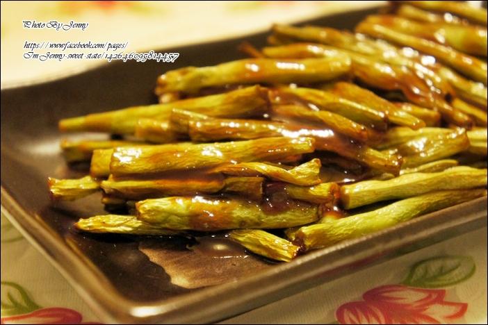 烤蜜汁四季豆4