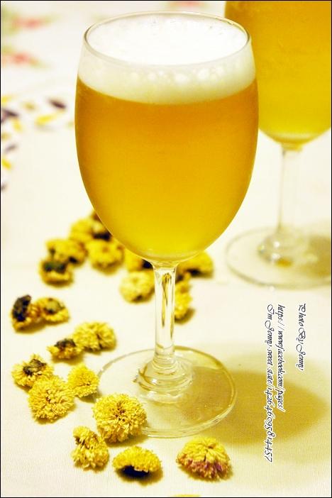 蜂蜜菊花茶4