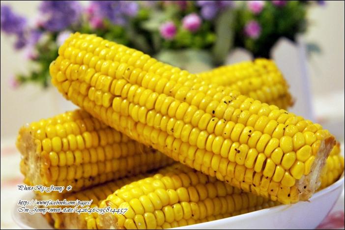 烤黑胡椒奶油玉米5