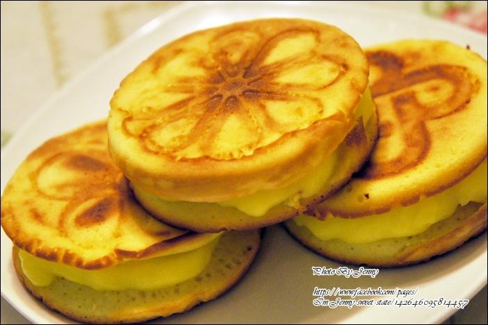 克林姆鬆餅(偽奶油餅)4