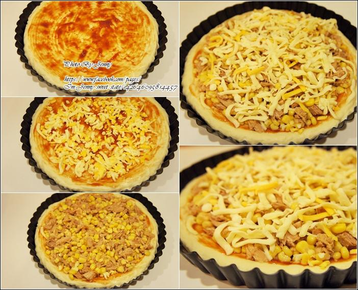 鮪魚玉米披薩&綠花椰蟹肉披薩3