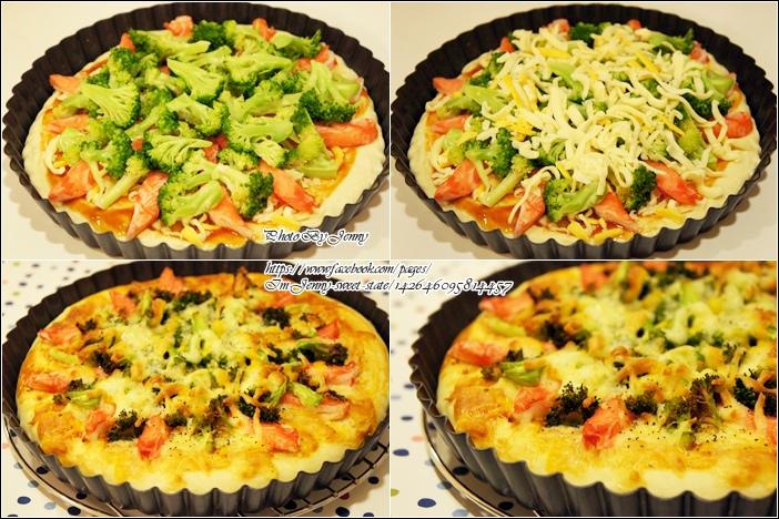 鮪魚玉米披薩&綠花椰蟹肉披薩6