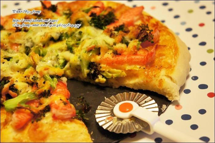 鮪魚玉米披薩&綠花椰蟹肉披薩7