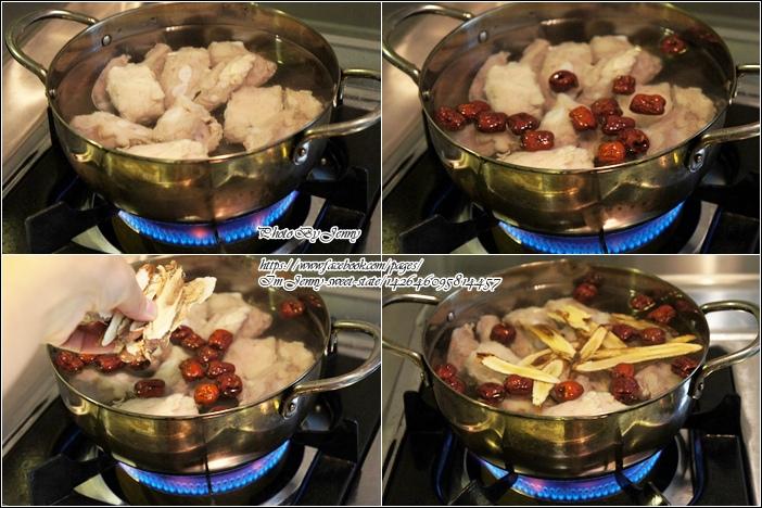 紅棗煲排骨2