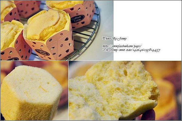 南瓜戚風杯子蛋糕9