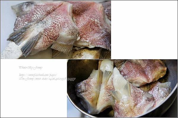 烤鯛魚下巴1