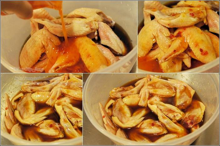 甜雞醬烤雞翅2