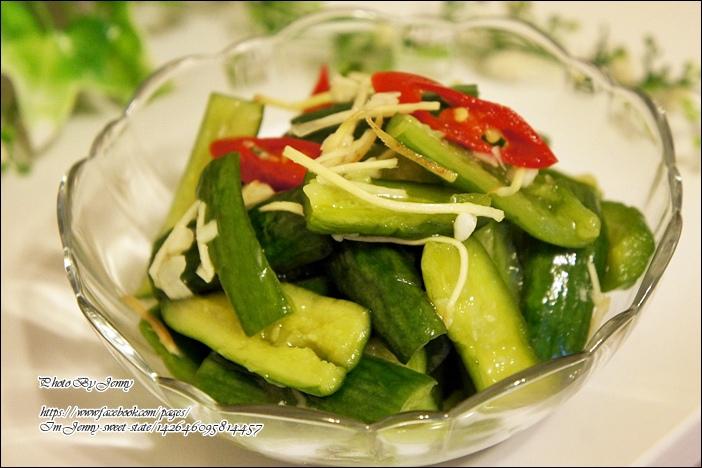 涼拌薑絲黃瓜5