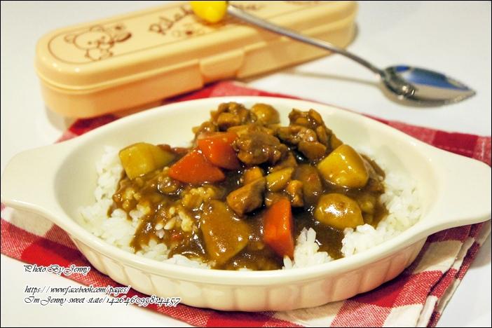 蒟蒻晶米咖哩飯5