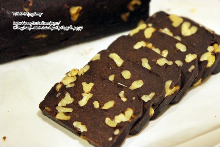 巧克力核桃餅乾4