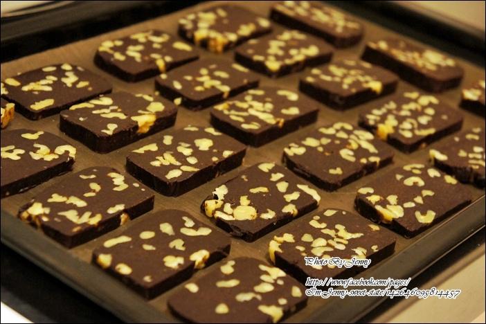 巧克力核桃餅乾5