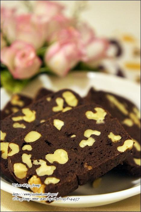巧克力核桃餅乾6