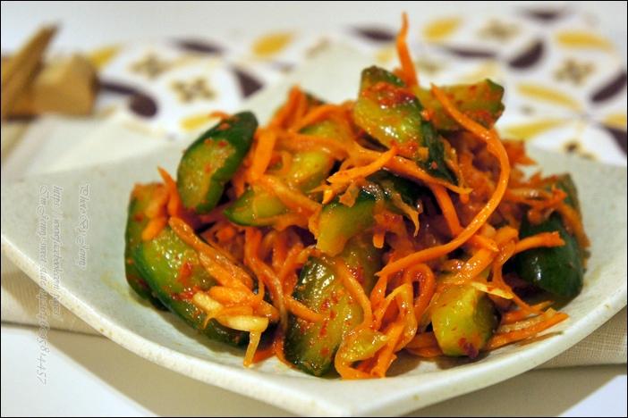 韓式黃瓜泡菜9