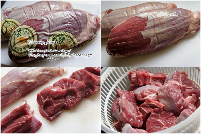 紅燒川味牛肉1