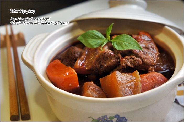 紅燒川味牛肉4