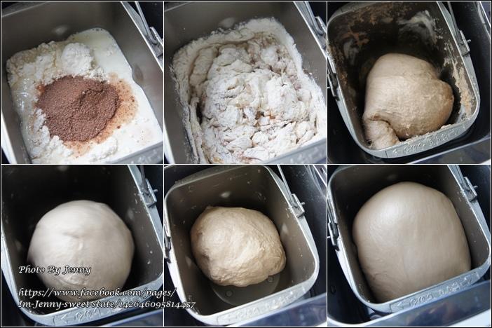 爆漿巧克力豆麵包1