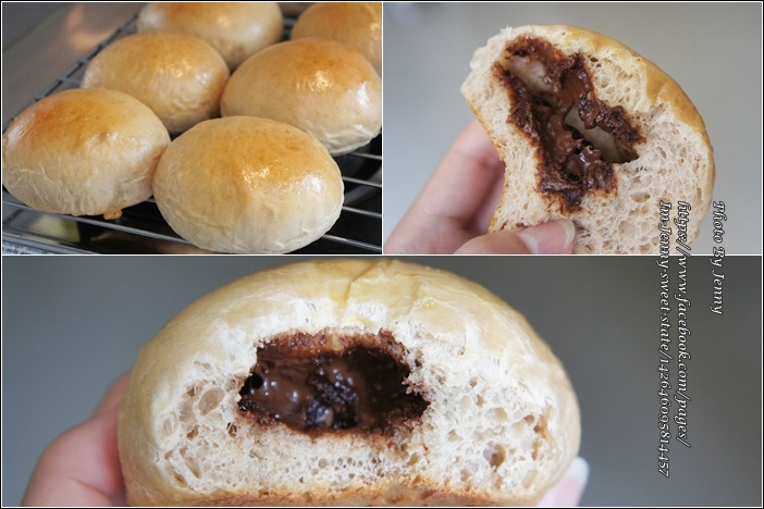 爆漿巧克力豆麵包5