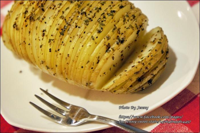 烤手風琴馬鈴薯5