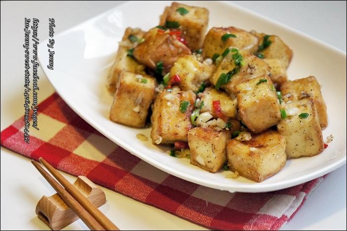 椒鹽豆腐4