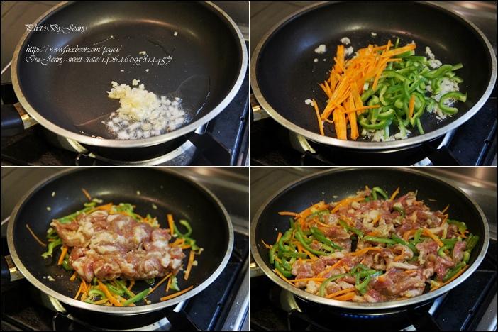 魚香肉絲炒麵3