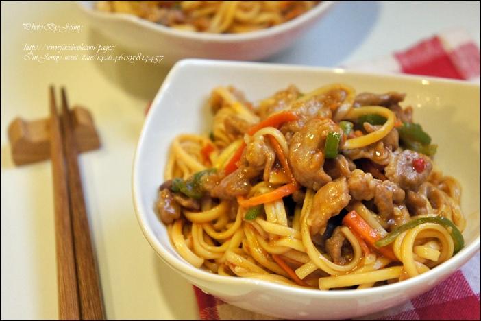 魚香肉絲炒麵6