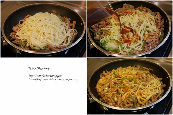 魚香肉絲炒麵5