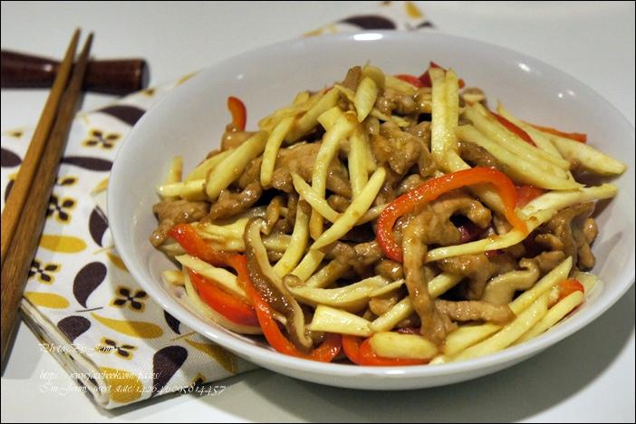 筊白筍炒肉絲5