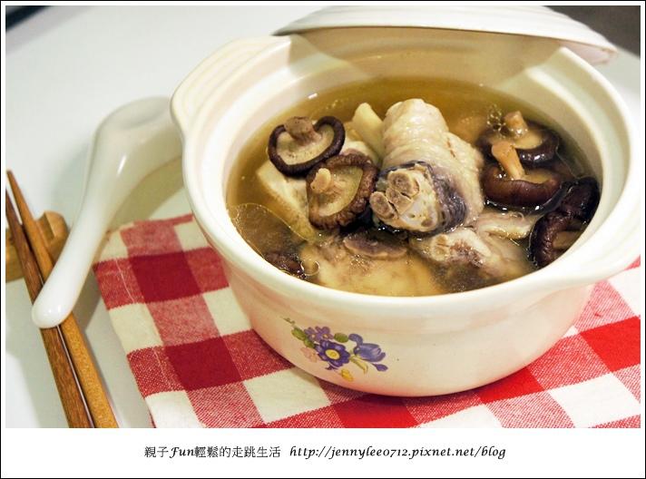 電鍋版香菇雞湯4