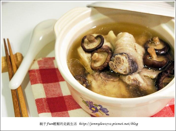 電鍋版香菇雞湯5