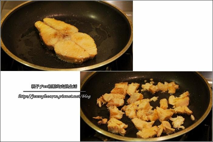 奶油鮭魚筆管麵3