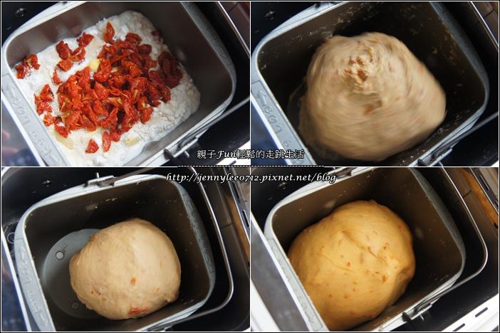 玫瑰番茄乾麵包1