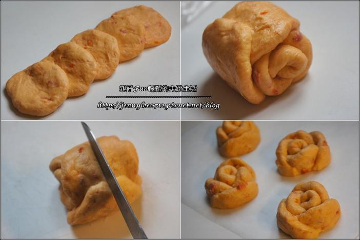 玫瑰番茄乾麵包3