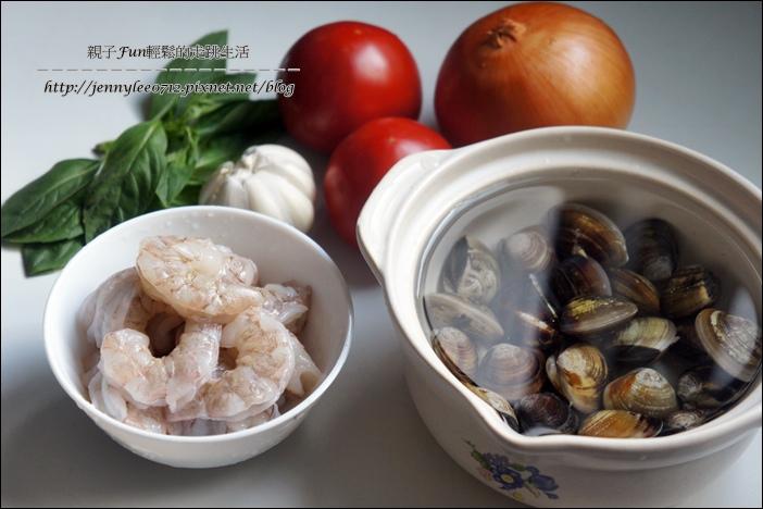 蕃茄海鮮蝴蝶麵3