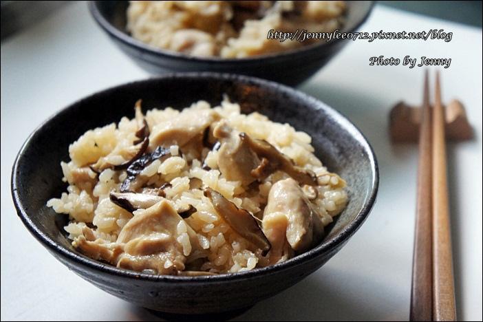 麻油雞丁飯4