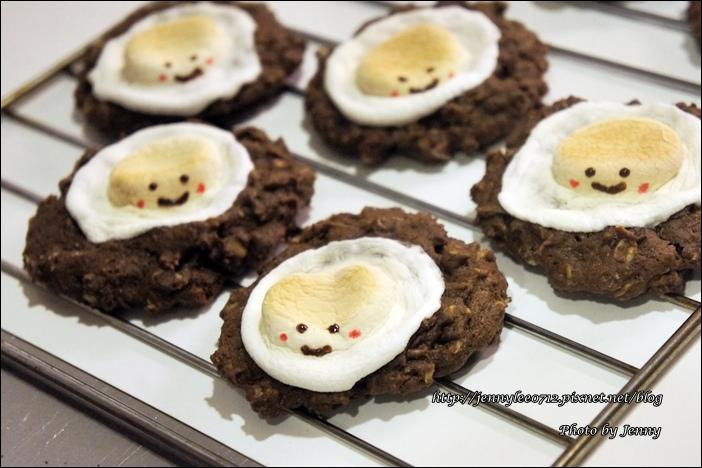 微笑巧克力燕麥餅乾8