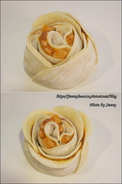 泡菜玫瑰花餃4