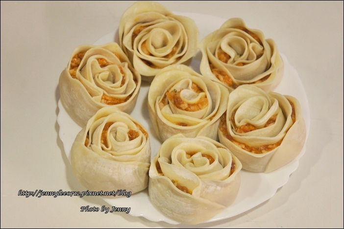 泡菜玫瑰花餃5