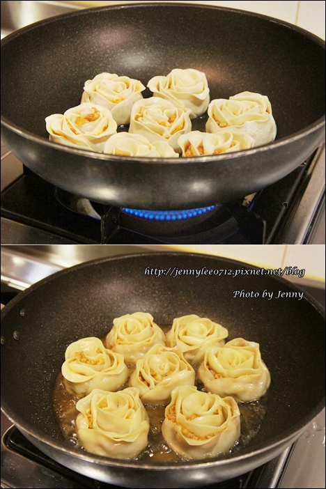 泡菜玫瑰花餃6