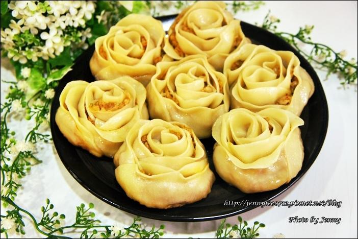 泡菜玫瑰花餃7