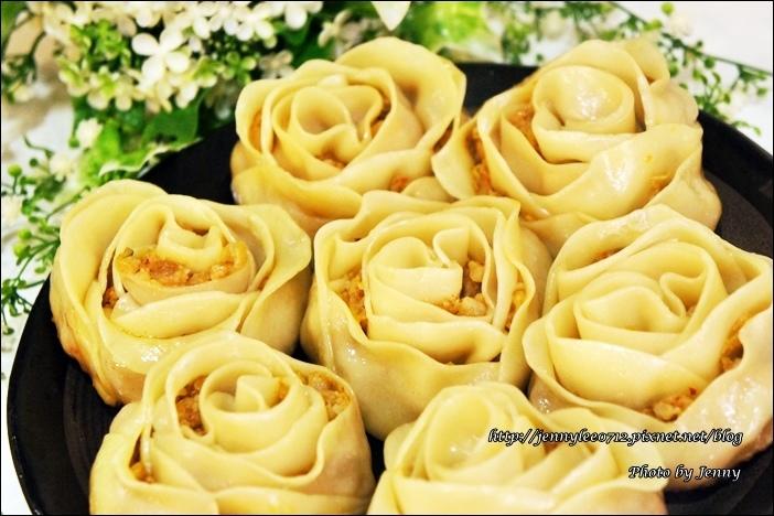 泡菜玫瑰花餃8