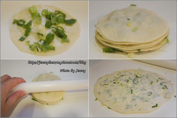 蔥油餅(水餃皮快速版)2