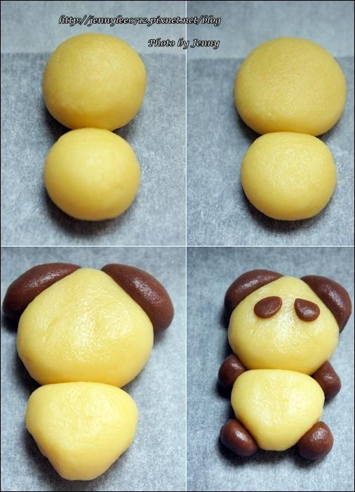 立體貓熊餅乾2
