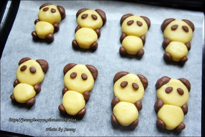 立體貓熊餅乾3