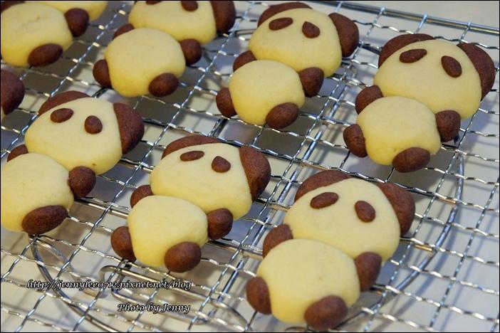 立體貓熊餅乾5