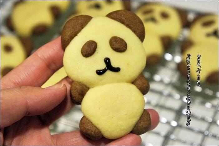 立體貓熊餅乾6
