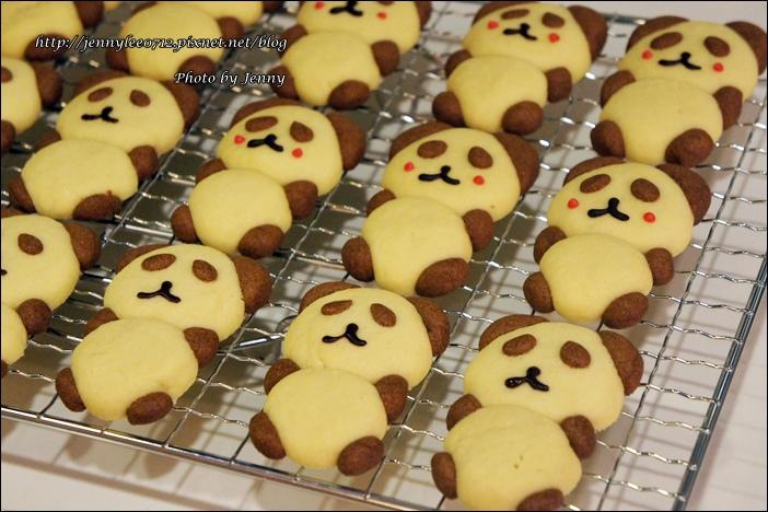 立體貓熊餅乾7