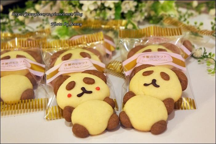 立體貓熊餅乾9