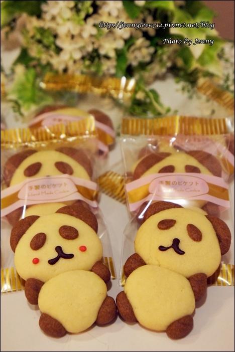 立體貓熊餅乾10