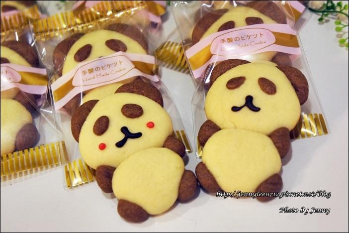立體貓熊餅乾11